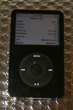 Apple iPod Classic 5th Generation Black A1136 80GB Tested Works