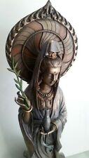 Kwan Yin Goddess of Compassion Olive Branch Peace Harmony Statue Figurine #1649