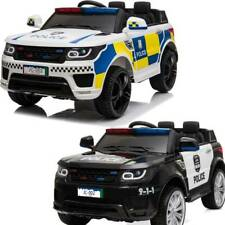 KIDS ELECTRIC 12V RIDE ON BATTERY POLICE SUV CAR WITH PARENTAL REMOTE CONTROL UK
