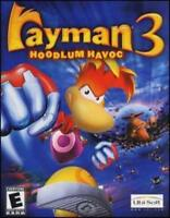 Rayman 3: Hoodlum Havoc PC CD strange world fight combat puzzle action hero game