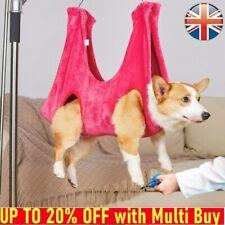 More details for dog/cat hammock helper grooming wash nail clip restraint bag pet harness