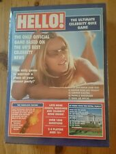 HELLO! - 'The Ultimate Celebrity Quiz Game'  NEW and sealed  Tomy Board Game