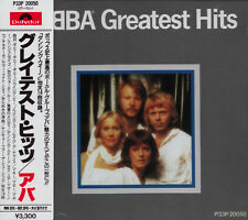 ABBA Greatest Hits RARE EARLY PRESS JAPAN CD OBI P33P-20050 NO IFPI!