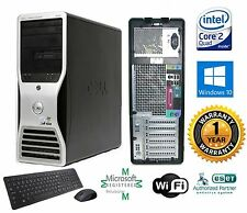 Dell 390 Workstation TOWER COMPUTER Intel C2D Quad 2.40GHz 8GB 1TB  Win 10 Pro66