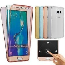 Für Samsung Galaxy 360 Grad Soft Case Full Body Cover 3 S4 S5 S6 S7 Edge Note 3