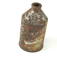1933 Glueks 12oz Cone Top Vintage Steel Beer Can - Minneapolis, Mn 30's
