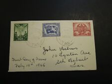 Australia 1946 Peace Issues First Day Cover - Z3728