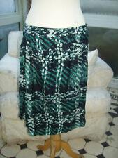 Escada navy green skirt 40EU 14UK