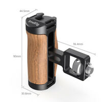 SmallRig Wooden Mini Side Handle (ARRI-Style Mount) for Mirrorless, Digital 2914