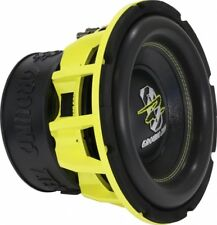 "Ground Zero GZHW 25XSPL - 10"" Inch 25cm Dual 1-Ohm SPL  Car Subwoofer"