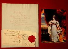 1828 Odessa - ZARIN ALEXANDRA FEODOROVNA  an Herzogin von Anhalt-Dessau