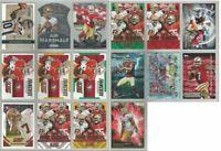 Colin Kaepernick San Francisco 49ers Nevada 16 card 2015 insert lot-all differnt