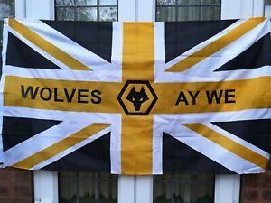 Wolves Ay We Flag 5 X 3 Feet