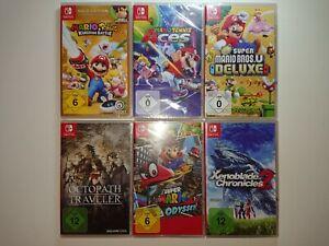 Nintendo Switch Spiele Auswahl (Mario,Yoshi, Pokémon,...) NEU+OVP