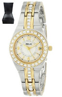 REDUCED* Relic Women's Ladies ZR11775 Queen's Court Silver & Gold Watch RRP £140