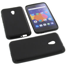 Custodia per Alcatel One Touch Pixi 4 5.0 4G Custodia Cellulare TPU Nero