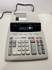 Sharp El-2630P Printing Calculator Adding Machine, 12 Digit 2 Color, High Speed