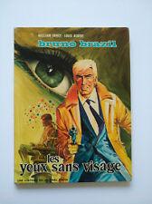 EO 1971 - Bruno Brazil 3 (les yeux sans visage) - Vance & Albert - Lombard