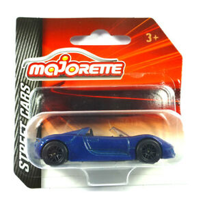 Majorette 212052791 Porsche 918 Spyder Bleu - Rue Voitures 1:64 Modèle Neuf !°