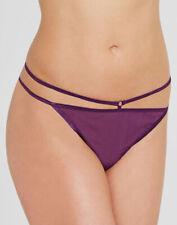 UK Size 16 - New Figleaves 'Carmen' Thong Purple UK Size 16 (132526)