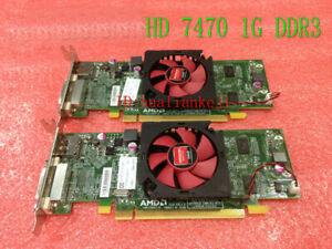 1PCS Original DELL HD7470 gaming graphics card