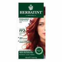 Herbatint Permanent Herbal Haircolor Gel FF2 Crimson Red 4.56 fl oz