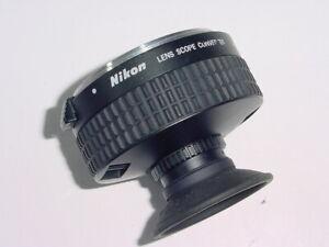 Nikon Lens Scope Converter For F Mount * Ex++