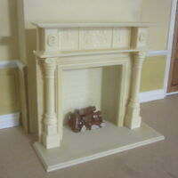 Dolls House 12th scale  REGENCY FIRE PLACE 6 piece KIT AD 6050