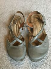 JAFA hand made leather criss cross sandal shoe women's EU 39 US 8.5 Israel