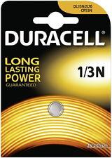 8 x Duracell Lithium Photo DL1/3N CR1/3N 2L76 CR11108, 8 x 1er Blister, bis 2024