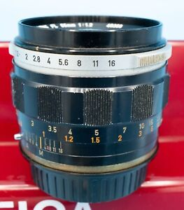 ULTRA FAST Canon FL 1.2/55 55 mm F1.2 LENS  Canon EF mount