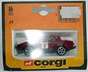 CORGI JUNIORS J3 TRIUMPH TR7 Rally car 5 spoke wheels MAROON Mint