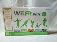 Wii Fit Plus juego y Wii balance Board para Nintendo Wii Nuevo y precintado Pal