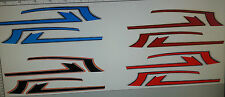 HONDA CX500 MODELS  FULL TANK PAINTWORK DECAL KIT