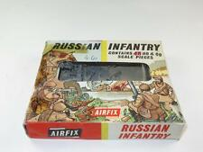 Vintage Airfix HO/OO Figures WWI RUSSIAN INFANTRY 47/48 Pieces in Type 2 Box