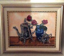 quadro ad olio natura morta 30 x 40 cm still life oil
