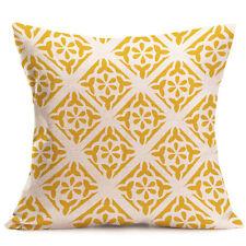 """18"""" Vintage Cotton Linen Throw Waist Pillow Case Cushion Cover Home Sofa Decor"""