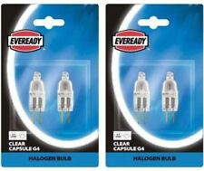 EVEREADY Low Voltage G4 Capsule 20w X 2 Blistered Halogen Light Bulb Electri