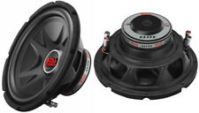 """NEW (2) 12"""" SubWoofer Speakers.DVC 4ohm Bass.Car.boat.Audio Sound.subs.PAIR.dual"""