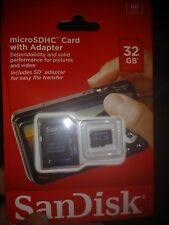 ***NEW*** microSDHC Card WITH Adapter 32GB HIGH QUALITY Class 4