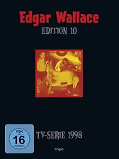 EDGAR WALLACE Edition 10 Haus der toten Augen WHITEFACE ..  4 DVD BOX Neu