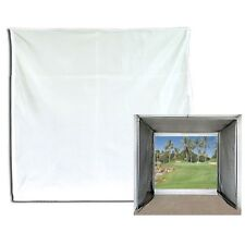 Golf Impact Projection Screen 10' x 10' Baffle Only