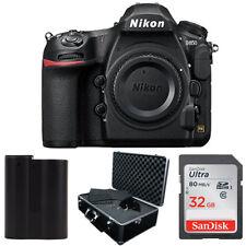 Nikon D850 Digital SLR Camera 45.7MP 4K FX-format + 32gb + Hard Case + Battery