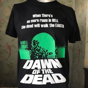 DAWN OF THE DEAD ZOMBIE HORROR MOVIE T SHIRT