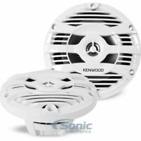 "KENWOOD 150W 6.5"" 2-Way KFC Series Coaxial Marine Speakers 