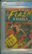 Flash Comics #43 CGC  2.5  Classic Cover 1943