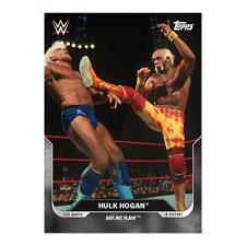 Topps - WrestleMania - This Month in History - Card 17 - Hulk Hogan