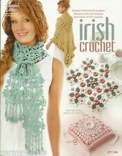 Irish Crochet Kathryn White Annie's Attic Crochet Instruction Pattern Book 2011