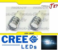 CREE LED Light 5W 3156 White 6000K Two Bulbs Turn Signal Parking Brake Tail Stop