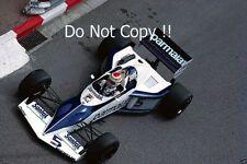 Nelson Piquet Brabham BT52 Monaco Grand Prix 1983 Photograph 4